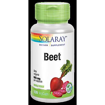 Solaray Betterave Vegan 100 Capsules