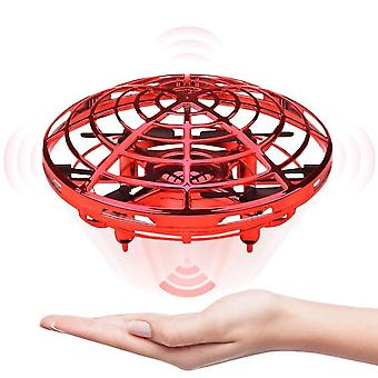Mini drone ufo hand operated helicopter quadrocopter infrared induction aircraft flying ball toys for kids
