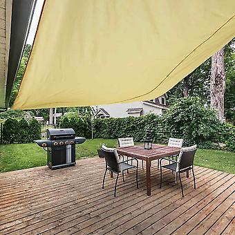Outdoor Rectangle Sun Shade Sail Garden Patio Sunscreen Awning Canopy UV Block