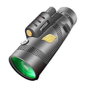 12X50 телескоп мощный монокулярный карман телескопа необязательный с держатель смартфона подходит для походов кемпинг туризма