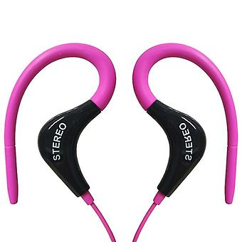 3.5mm Running Sport Wired Earphones Headphone Headset With Mic