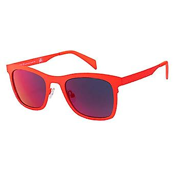 ITALY INDEPENDENT 0098-055-000 Sunglasses, Red (Rojo), 51 Unisex-Adult
