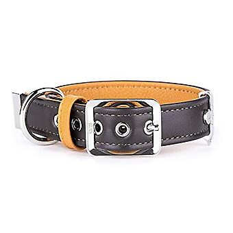 My Family Adjustable Collar in Real Leather Made in Italy Hermitage Collection(14)