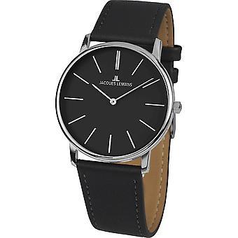 جاك ليمانز ساعة اليد المرأة سلسلة 200 كلاسيك 1-2004A