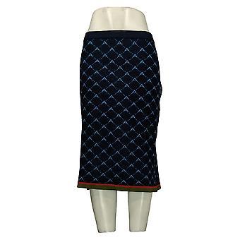 """Antthony Women's Skirt Reg """"Spectator Collection"""" Knit Blue 689018"""