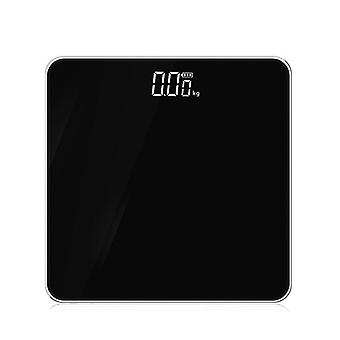 Gerui Electronic Scale LED Display Human Body Weight Scale(Black)