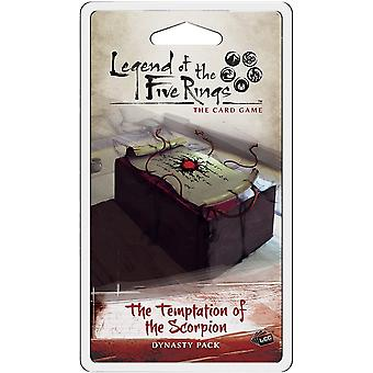 Legend of the Five Rings LCG: The Temptation of the Scorpion Dynasty Pack