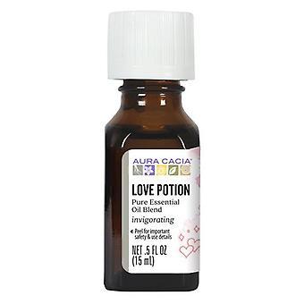 Aura Cacia Essential Solutions Oil, Love Potion 0.5 Oz