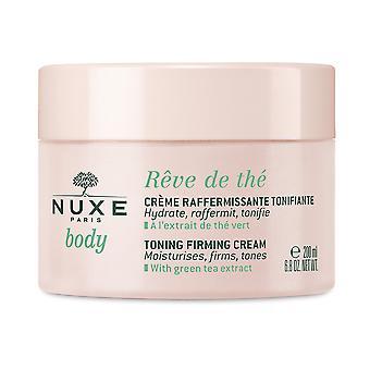 Nuxe Rêve De Thé Crème Refermissante Tonifiante 200 ml for kvinder