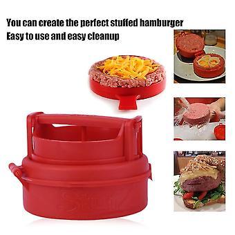 New Stuffed Burger Making Press Hamburger Maker Kitchen Cooking Tool
