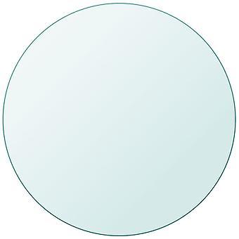 """שולחן vidaXL העליון עשוי זכוכית מחוסמת עגול 800 מ""""מ"""