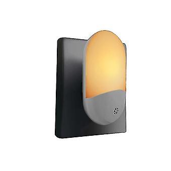 自動 LED 夜間ライトプラグ 省エネ夕暮れ 2 ドーン センサー キッズ ライト(ウォーム ホワイト)