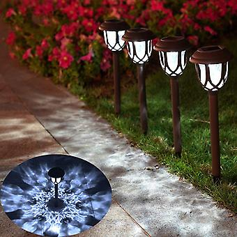 8/4/2/1pcsソーラーランプLED芝生防水ランプガーデンと風景装飾ソーラーライト屋外ガーデン