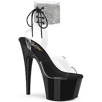 Pleaser Damen's Schuhe ADORE-791-2RS Clr/Blk