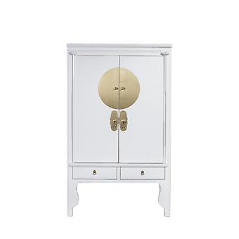 Fine Asianliving Kinesisk BryllupSkap Snø Hvit - Orientique Samling W100xD55xH175cm
