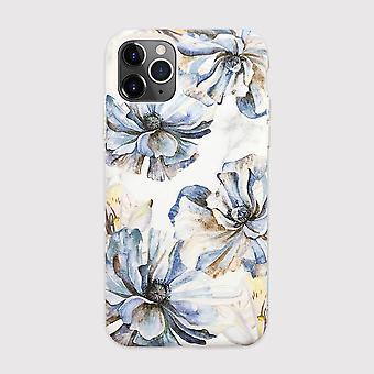 Eco vriendelijke bedrukte witte bloem iphone 11 pro case