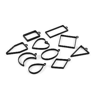 Stampi geometrici per bordo cornice cava per la creazione di gioielli fai-da-te