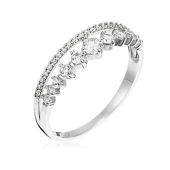 Ring 'My Queen' White Gold