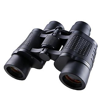 80x80 Binoculars for Adults Children, High Power Binoculars with Carrying Bag for Stargazing, Travel, Hunting, Bird Watching,(black)