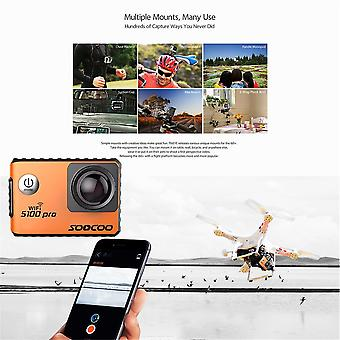 Soocoo Voice Control S100pro Action Camera Wifi 4k Hd 2.0 Touch Screen Camera