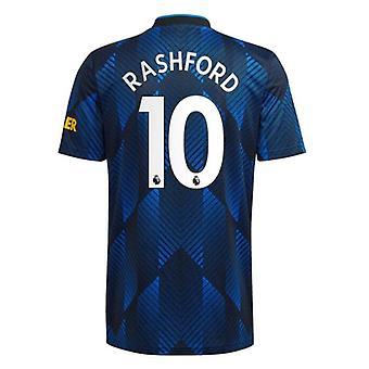 Mens #10 Rashford Football Jersey New Season Mnchester 2021-2022 United Soccer Jersey T-shirts Size S-xxl