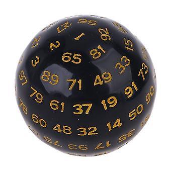 100 strán Lopta na hracie plochy Polyhedral Kocka D100 Viacstranné akrylové kocky pre stolovú dosku Role Playing Game Bar Pub Club Party