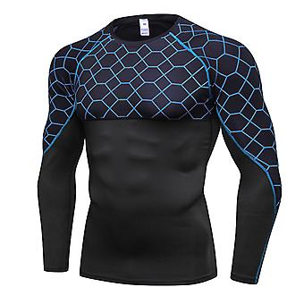 Men's Quick Dry Sport Fitness Compression T-shirt Gym Workout