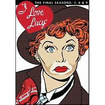 Eu Love Lucy-temporada 7 8 9 & importação Final EUA [DVD]