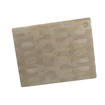 Rubber Wood Endgrain Block Butchers Chopping Cutting Board