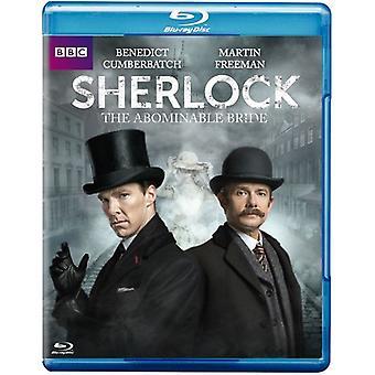 Sherlock: Avskyvärda brud [Blu-ray] USA import