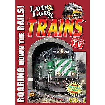 Lots & Lots of Trains Vol. 3 [DVD] USA import