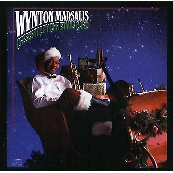Wynton Marsalis - Crescent City Weihnachtskarte [CD] USA import