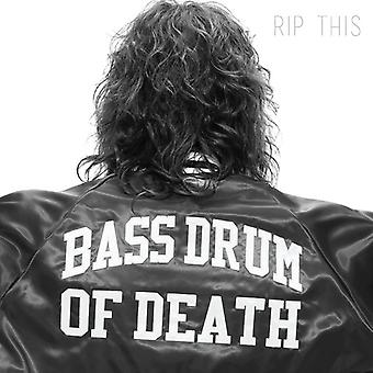 Bass Drum of Death - Rip This [CD] USA import