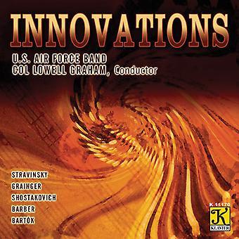 Stravinsky/Grainger/Shostakovich/Barber/Bartok - Innovations [CD] USA import