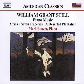 W.G. Still - Piano Music [CD] USA import
