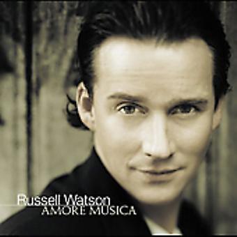 Russell Watson - importación de Estados Unidos Amore Musica [CD]