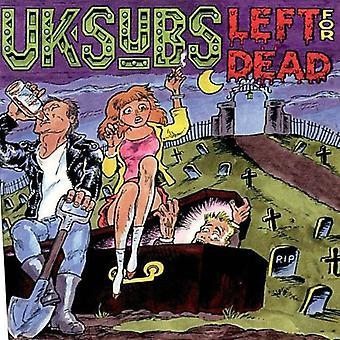 Uk Subs - Left for Dead [CD] USA import