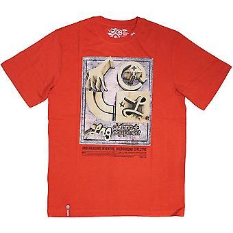 LRG ydin kokoelma seitsemän t-paita punainen Heather