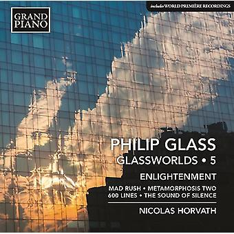 Glass / Horvath - Glass: Piano Works Vol 5 [CD] USA import