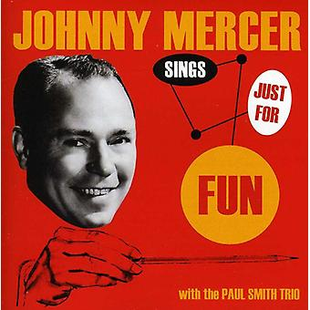 Johnny Mercer - Sings Just for Fun [CD] USA import