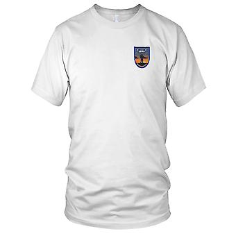 US Army - TF San Diego Operation Jump Start Embroidered Patch - Mens T Shirt
