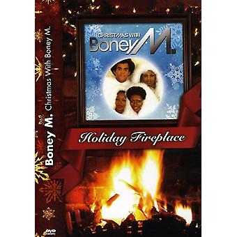 Boney M - Christmas with Boney M.-Holiday Fireplace [DVD] USA import
