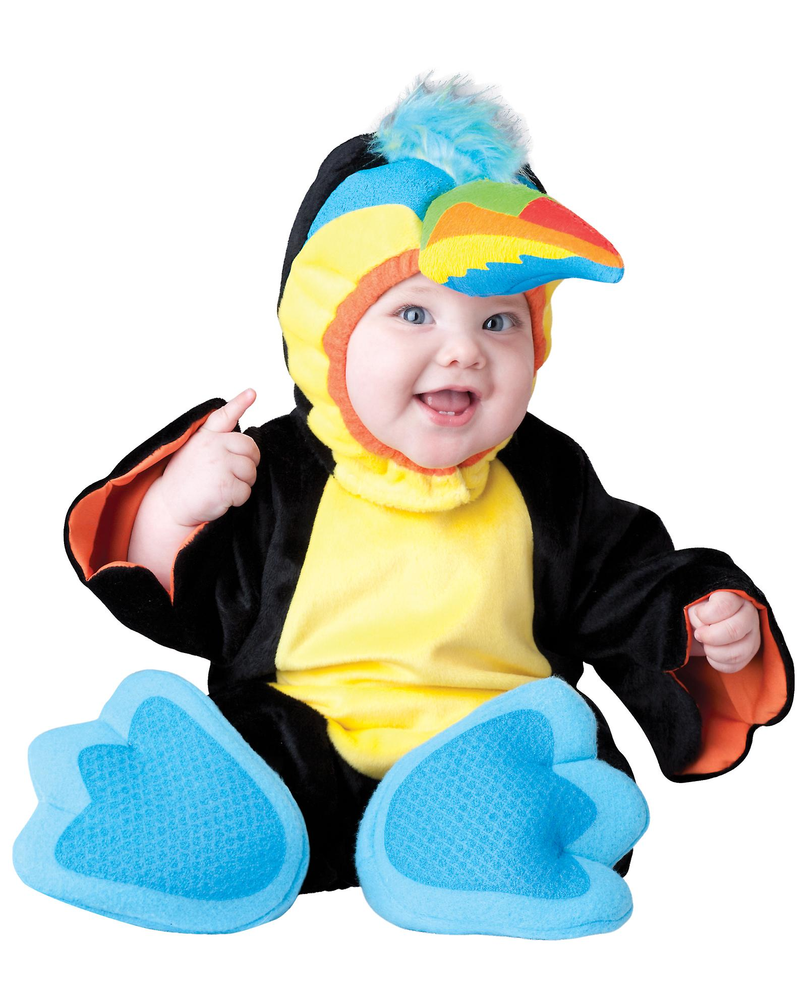 Tiny Toucan Bird Animal Deluxe Toddler Boys Costume