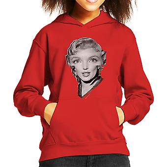 Marilyn Monroe prinsen och Showgirl 1956 Kid's Hooded Sweatshirt