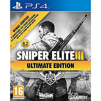 Sniper Elite 3 - Ultimate Edition (PS4) - Nouveau