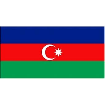 Azerbaijan Flag 5ft x 3ft with eyelets for hanging