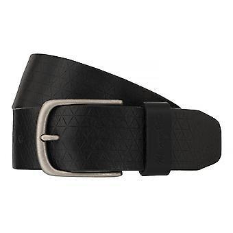 Pour hommes ceintures WRANGLER ceinture cuir ceintures noires 6524