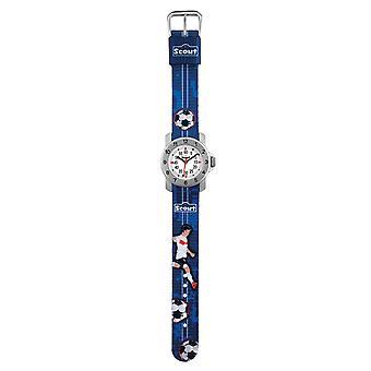 Scout kinderen leren horloge van actie boys - voetbal jonge 280376004