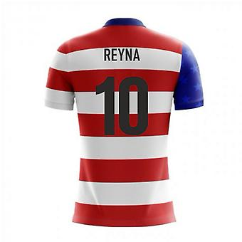 2020-2021 USA Airo Concept Home Shirt (Reyna 10)