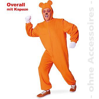 Ursul ursul BearOverall Orange cauciuc ursul unisex costum